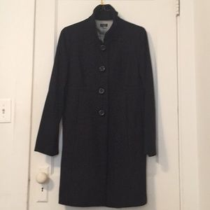J. Crew Jackets & Coats - J Crew Stand Up Collar Wool Coat Size 12